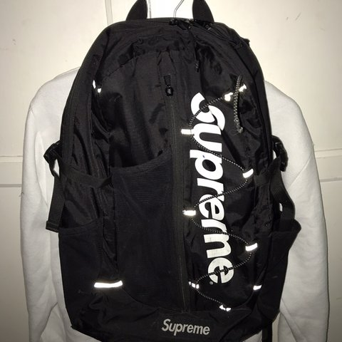 best cheap d6a02 51763 Supreme Backpack SS17 black. Selling- 0