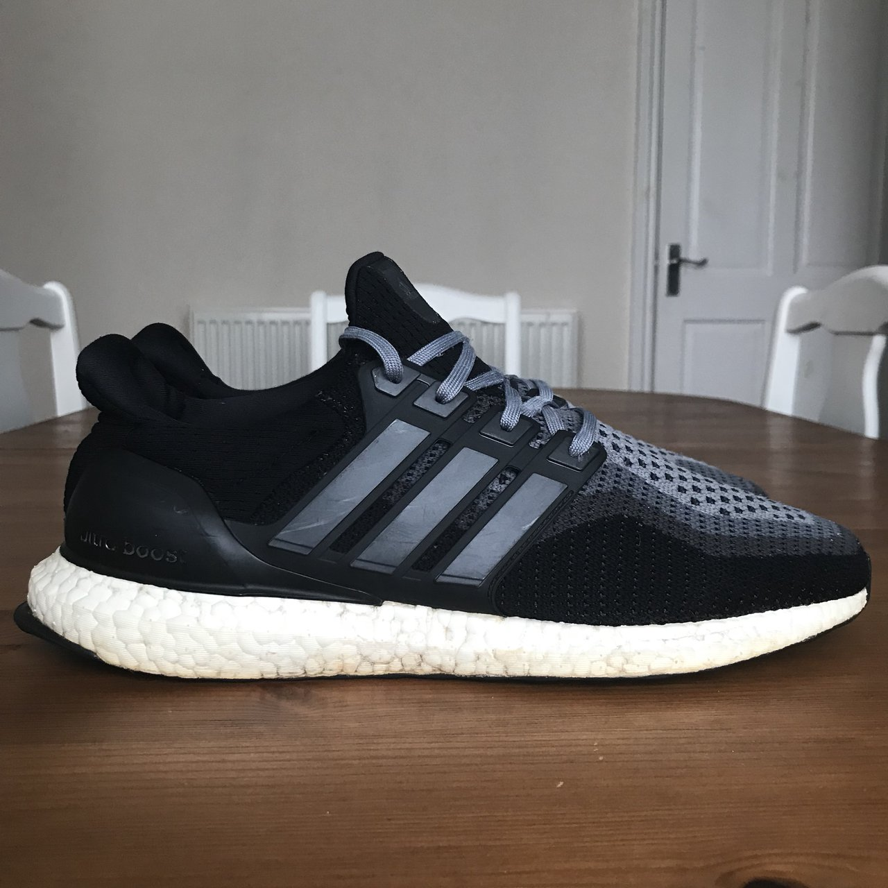 Adidas Ultra Boost Black White Grey UK 10 Great pair d193f150f