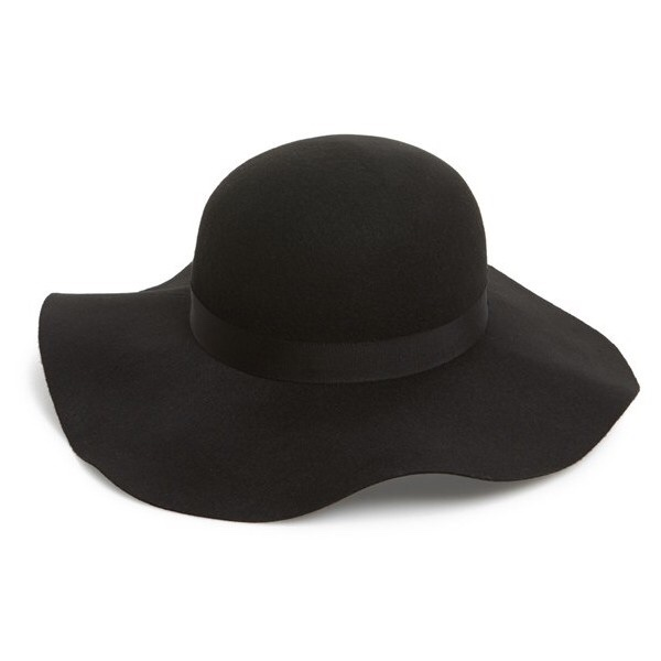 785972d3 @erin_fb. last year. Truro, United Kingdom. Topshop black felt floppy hat.