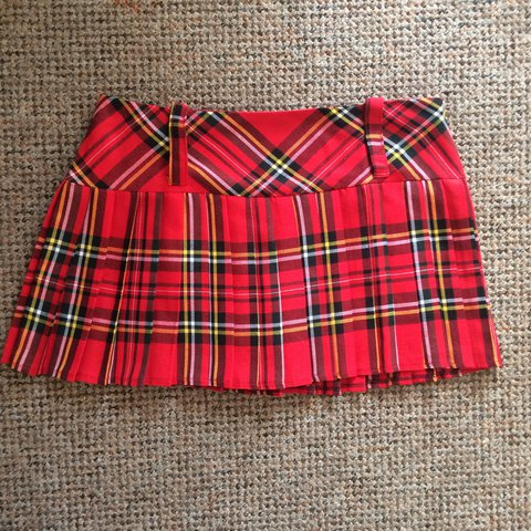 8eb9e0aeb @pollyhoward123. last year. Bristol, United Kingdom. Red check plaid tartan  mini school girl skirt !! The ...