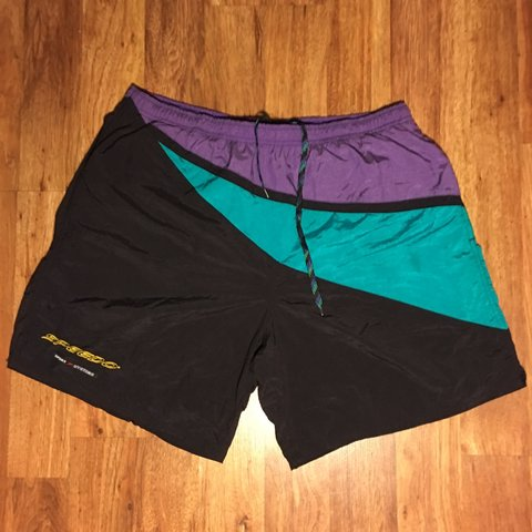21c1b4a18f @sugoi_vintage. last month. ʻEwa Beach, United States. Vintage Speedo swim  shorts with 90s ...