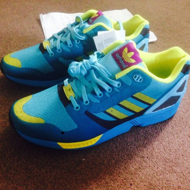 1bbde04a204566 Adidas zx flux weave 8000. Super limited. Sold out in Worn a - Depop