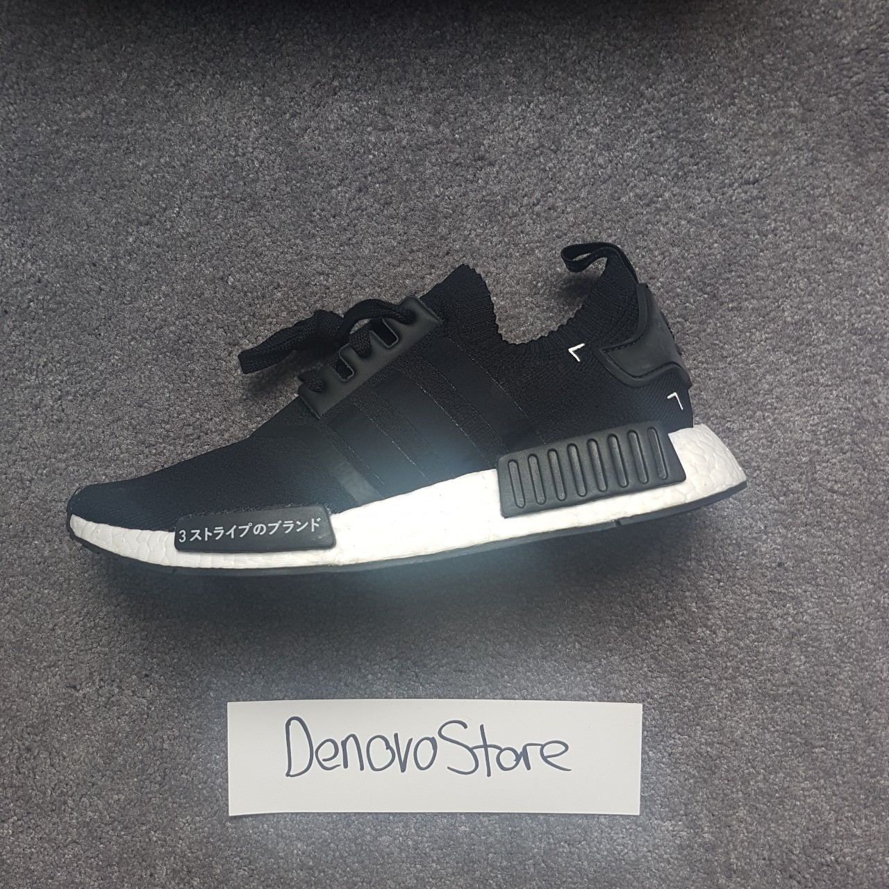 Adidas Nmd R1 Japan Boost 2016 Black And White Brand Depop