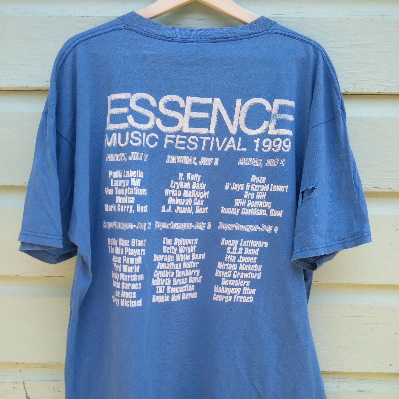 VTG 1999 Essence Music Festival ft R Kelly Lauryn    - Depop