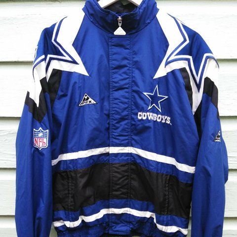 new product 60d34 97bbb VTG 90s Apex Dallas Cowboys Jacket In overall good... - Depop