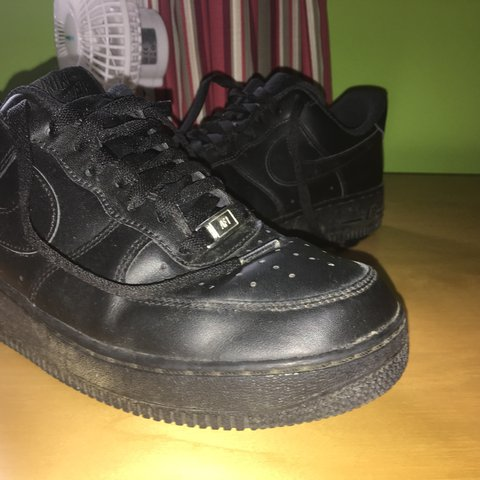 All black nike Air Force 1 Almost brand
