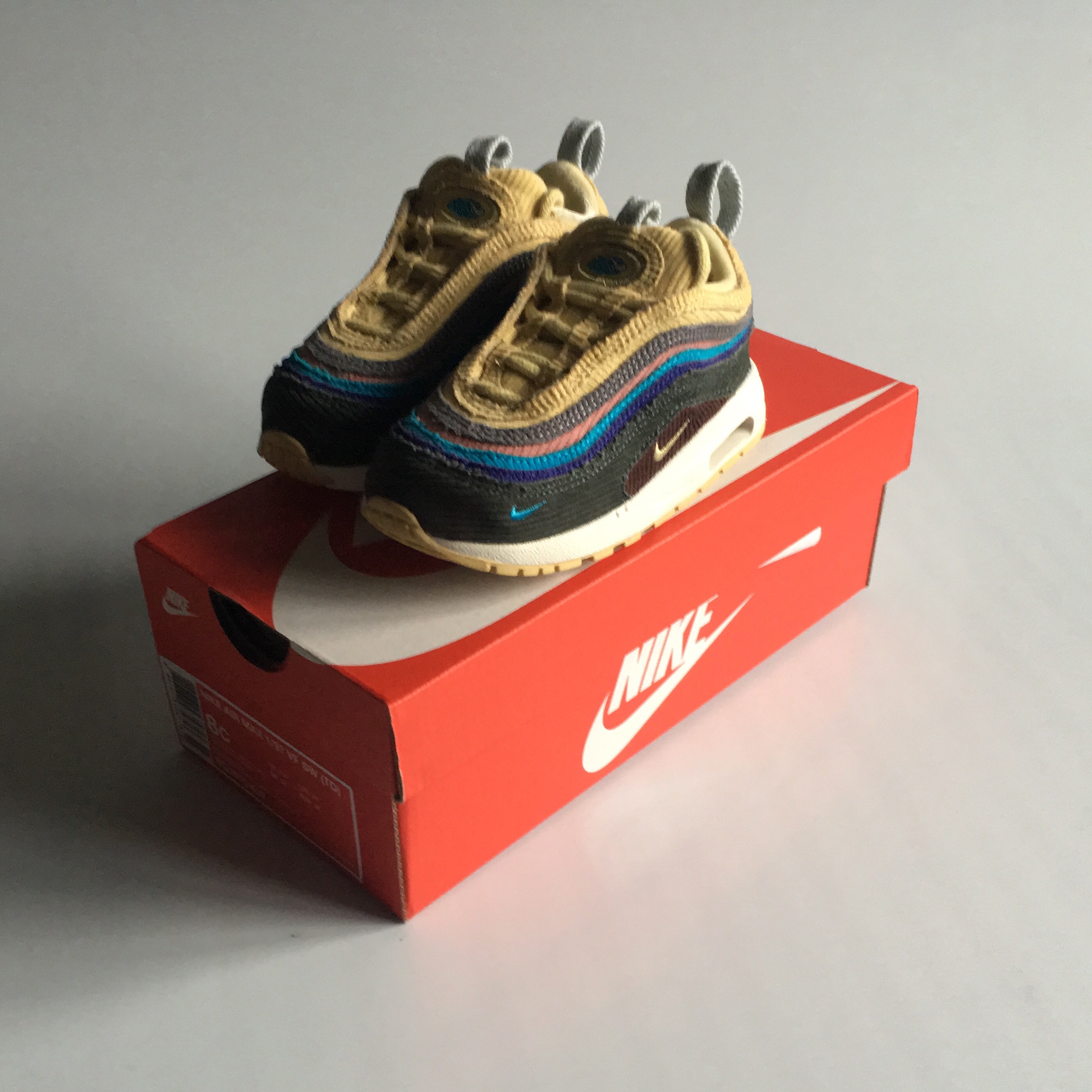 Nike Air Max 1 97 SW (Sean Wotherspoon) Toddler Depop