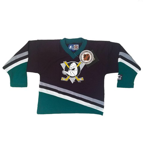 63247ac3 ... where can i buy vintage anaheim mighty ducks jersey. starter new w tags  4t depop