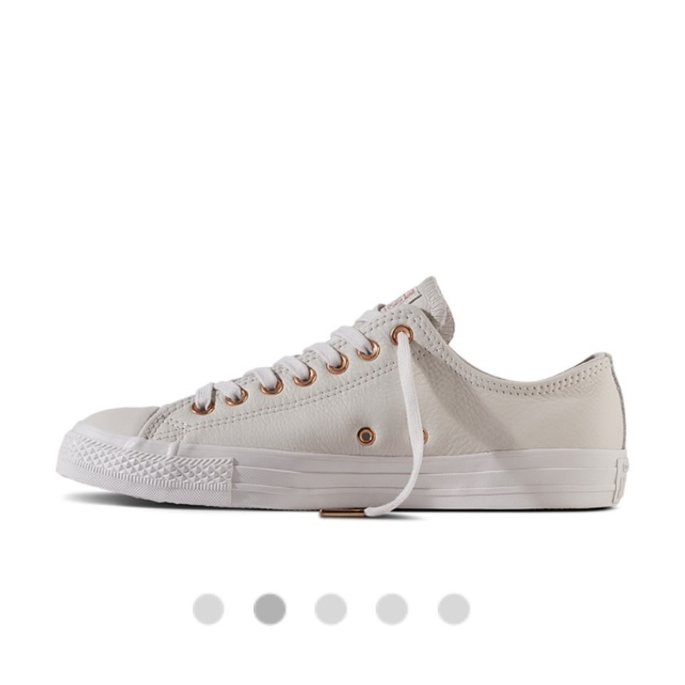 pale putty rose guld converse outlet