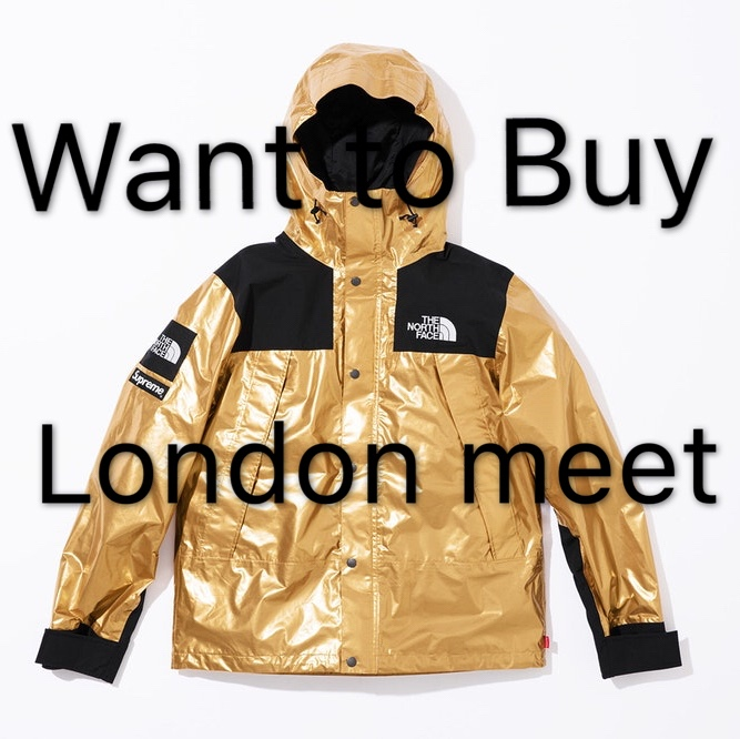 kup dobrze sklep internetowy Los Angeles Want to buy Supreme X the north face metallic... - Depop