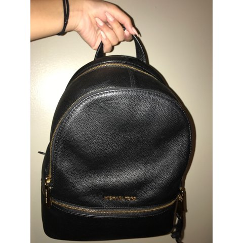 d41a6dd1c9c146 ... shopping michael kors rhea medium leather backpack still has tags.  depop 4b54d 2492d