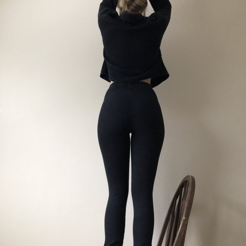 1dbc27abe86 Gently used pair of American Apparel thick legging. If I was - Depop