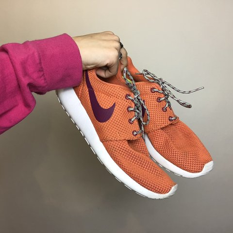 more photos 72303 373fc Nike Roshe Run orange plum hella lightweight- 0