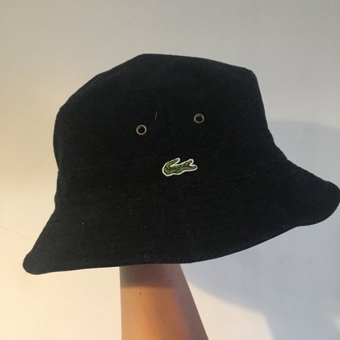 741310fac6a48 Lacoste Reversible Bucket Hat! Very Rare piece