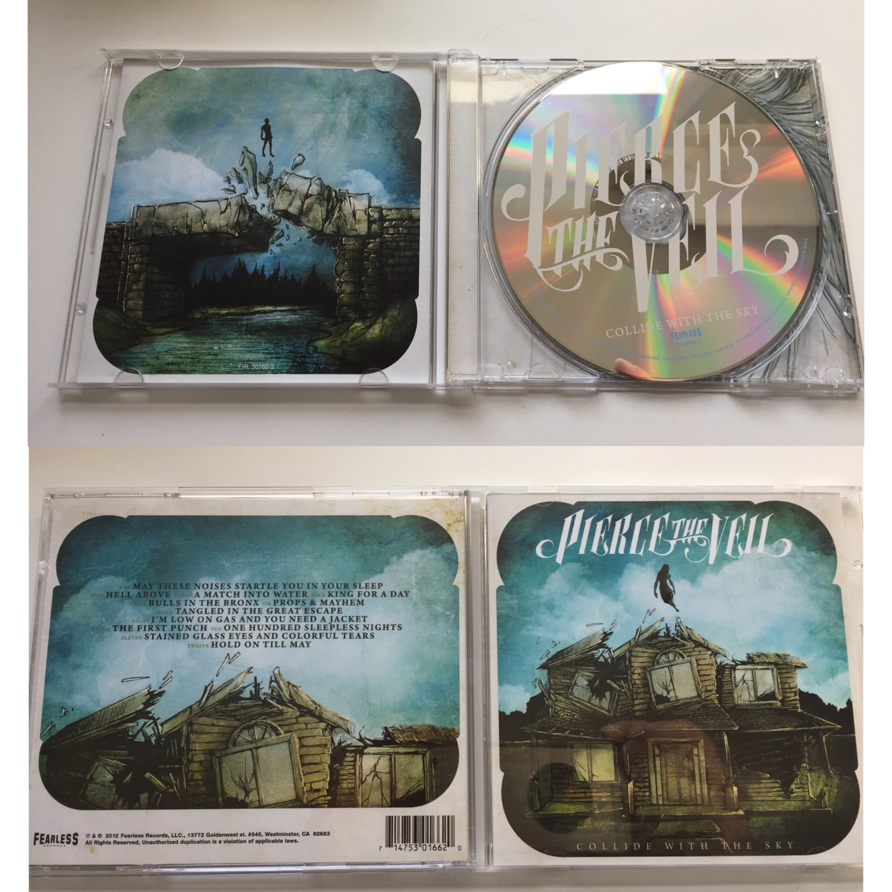 Pierce The Veil Collide With The Sky Cd Looking Depop