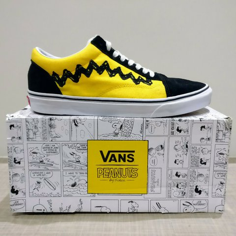 710b4be284 Vans x PEANUT Comics Charlie Brown Old Skool No longer sold - Depop