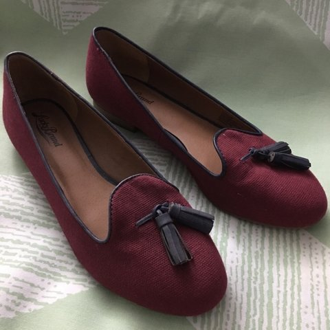 4aff142045dd Lucky Brand Size 8 Dolce Loafer Ballet Flat. Good used light - Depop