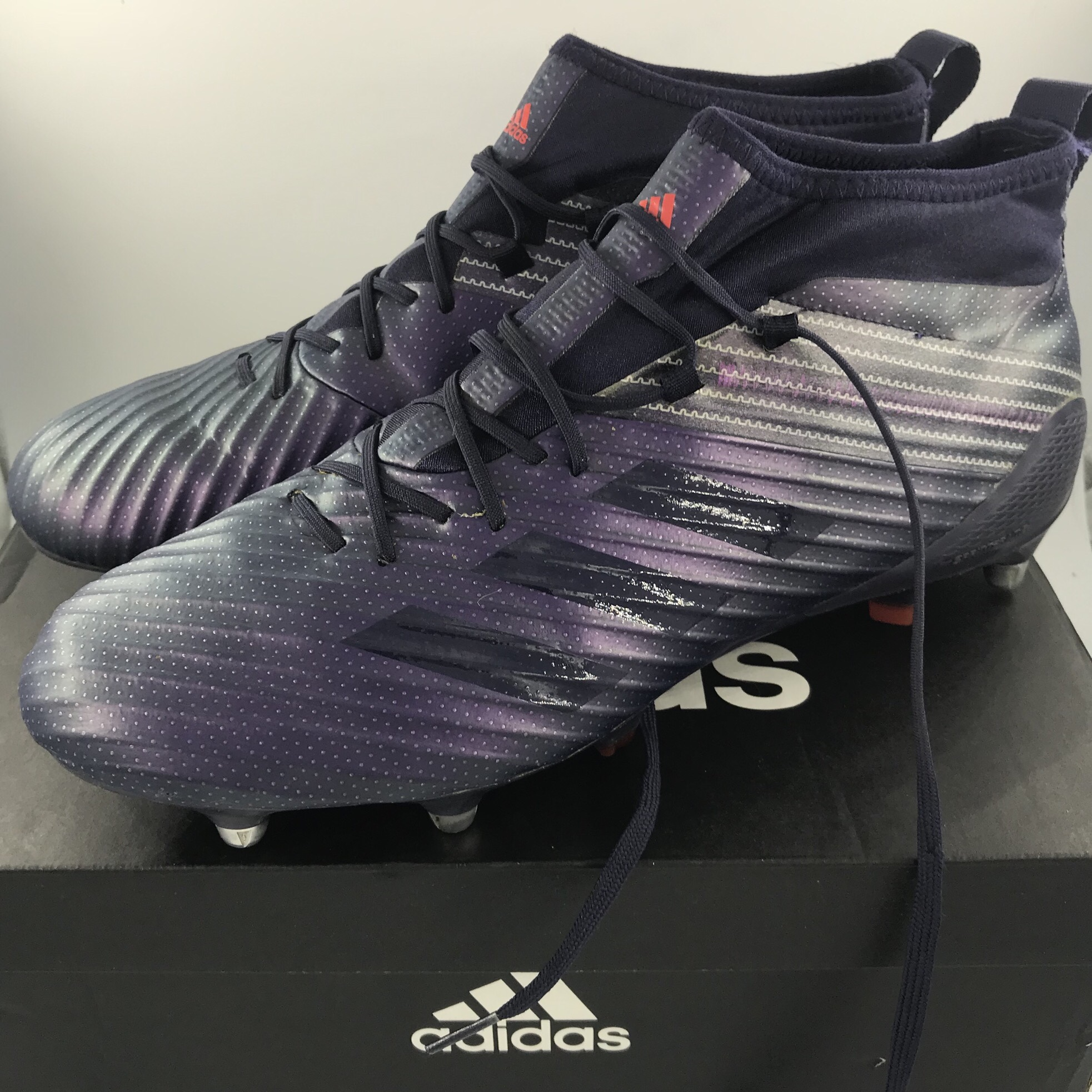 Adidas Predator Flare SG Rugby Boots Size UK~10.5 Depop