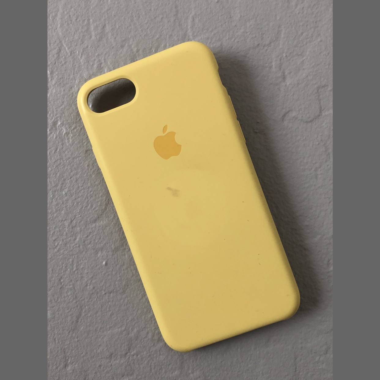 new concept c38f2 88a44 iPhone 7/8 Banana Yellow Silicone Case🍌 The... - Depop