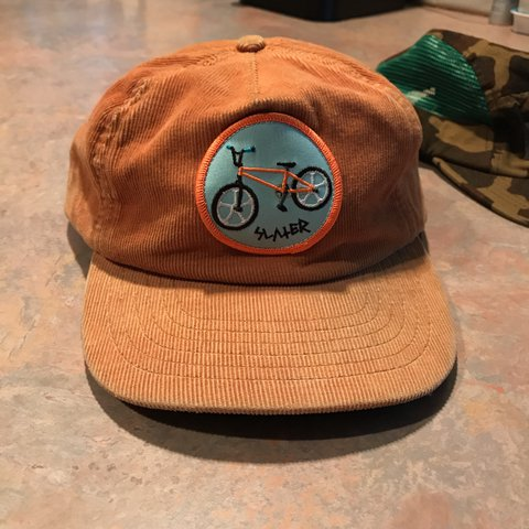71556a5a97f6 Tyler the creator corduroy Slater hat. purchased at a of 4 - Depop