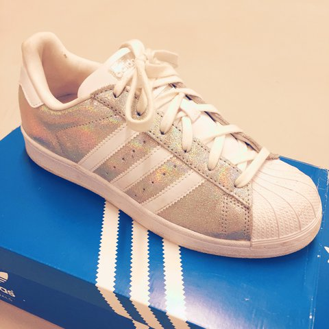 adidas superstar 38 argento