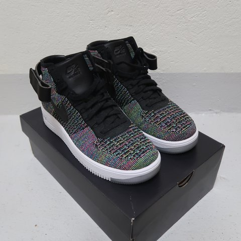 cheap for discount f3e95 685c2 @valent7n. last year. Gwatt (Thun), Switzerland. Nike Air Force 1 Ultra  Flyknit Mid Multicolor 2.0