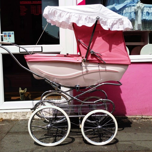 Pink Silver Cross Kensington Couch Built Pram Comes With Sun Canopy And Shopping Tray Silvercross Couchbuilt Heritage Romany Contact