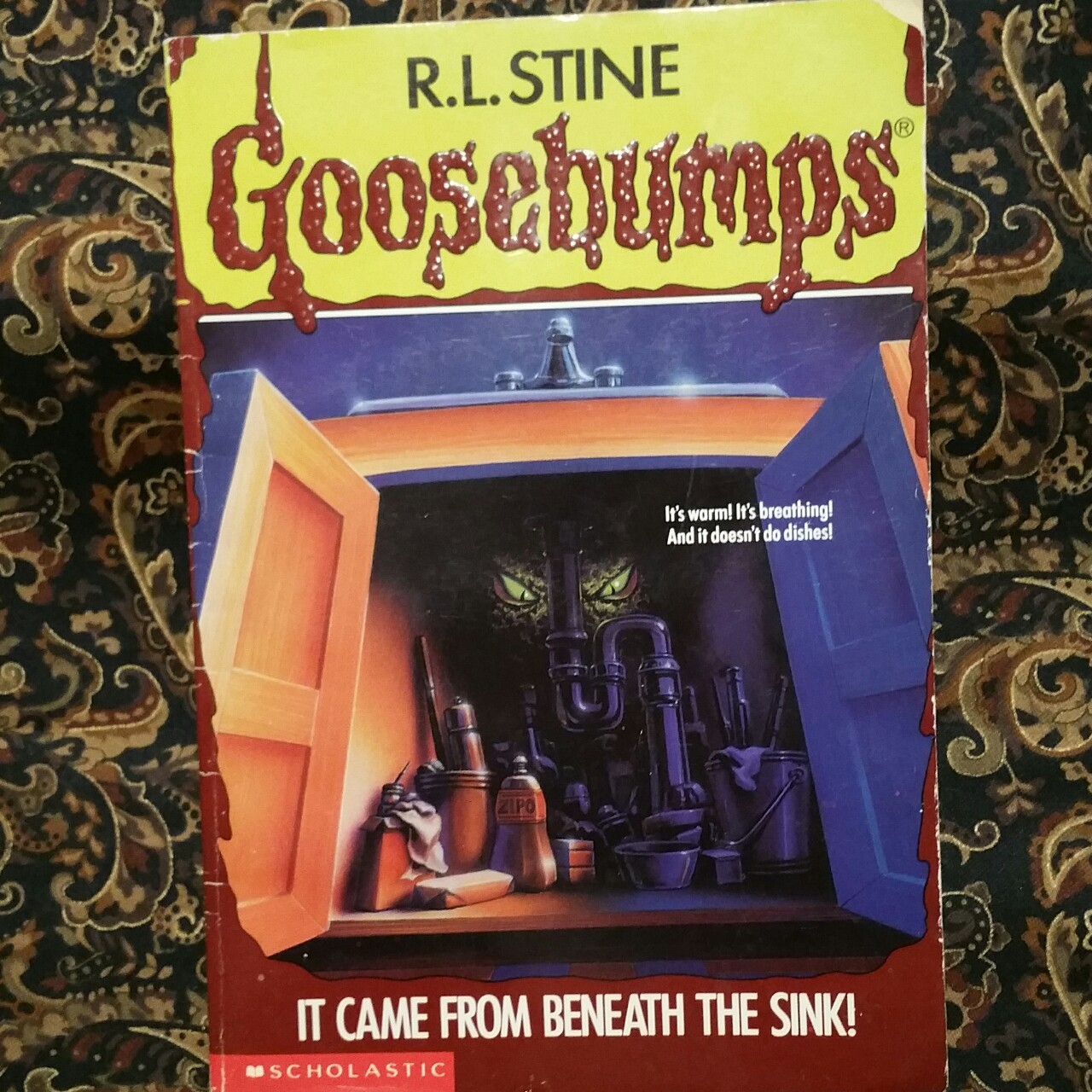 It Came From Beneath The Sink Goosebumps 30 By Depop