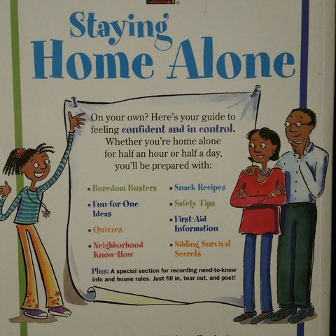 staying home alone american girl library a girl s guide depop
