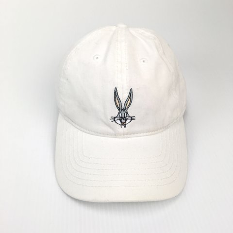 161b2f7d Looney tunes bugs bunny Adjustable Dad Hat in good & One to - Depop