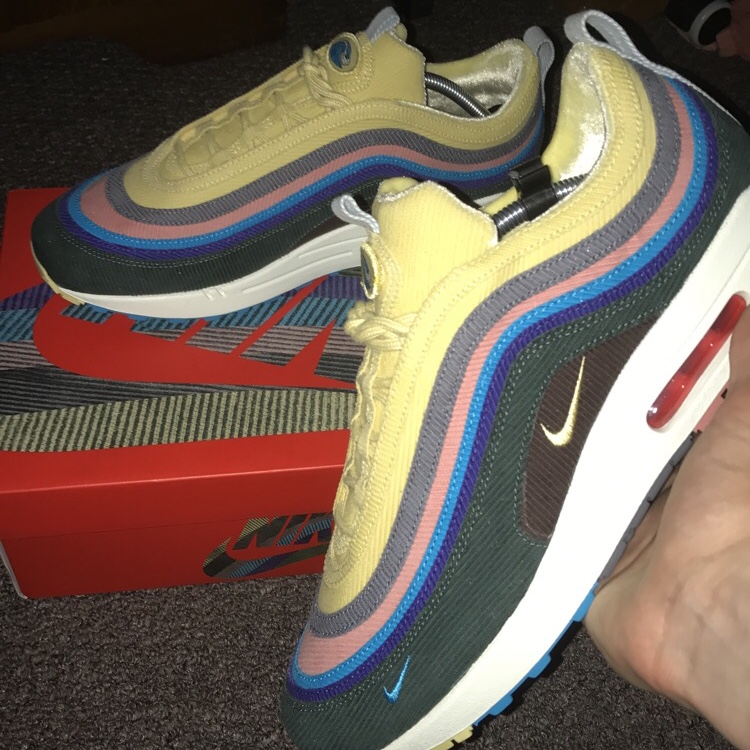 timeless design 0bff4 31873 Nike air max 97/1 Sean Wotherspoon Deadstock Uk 10.5... - Depop