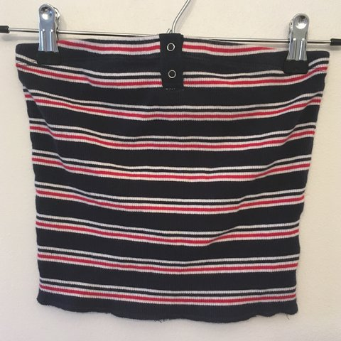 207b440ee68869 Most amazing vintage Tommy Hilfiger tube top! Seriously in I - Depop