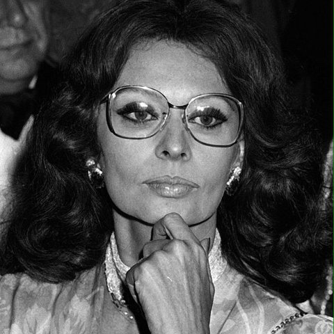 1528fded3a4f5  anvjin. last year. United States. Vintage 70s Sophia Loren Glasses  Oversized round glasses.
