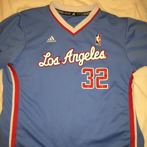 97ead692576b Adidas Nba jersey Blake griffin los Angeles Clippers worn Uk - Depop