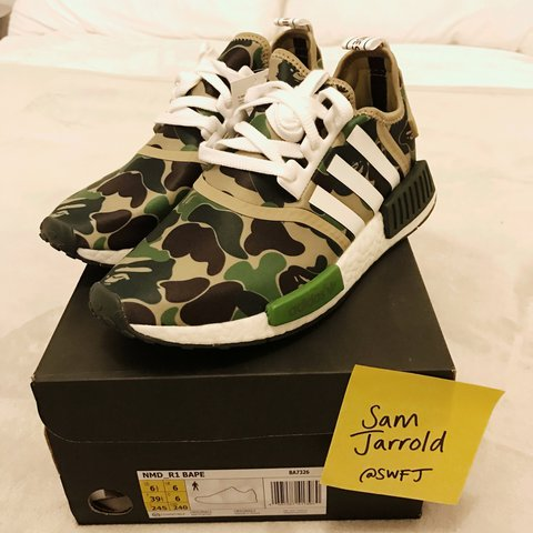 bcde42bb98ae2 Adidas NMD X Bape 🔥 Uk 6 Message me before buying. DS