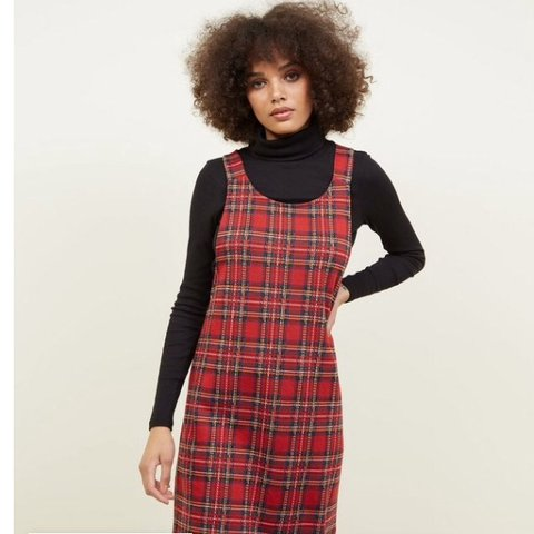 0d1e58e92dfc 💌 Delivery = £2.99 & Same/Next Day ♥ New Look red tartan - Depop
