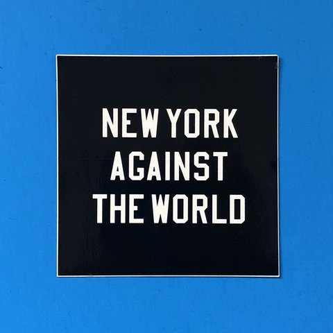 acf720c99f01 RARE Nike New York Against the World sticker  nike  nyc - Depop