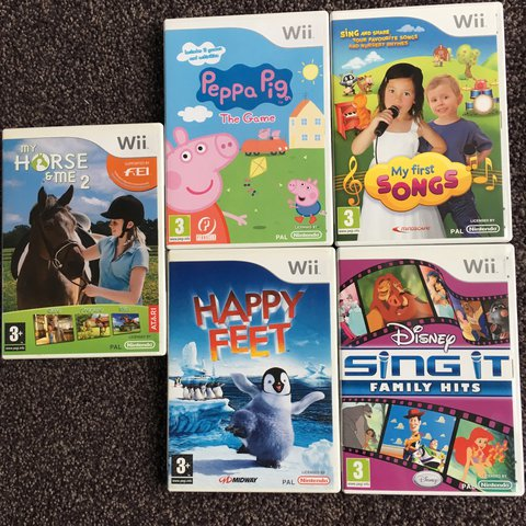 Wii songs