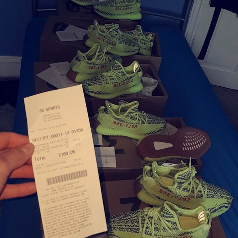 2578a755a Yeezy boost 350 V2 Frozen Yellow trainers!🔥🔥🔥 Size UK 3.5 - Depop