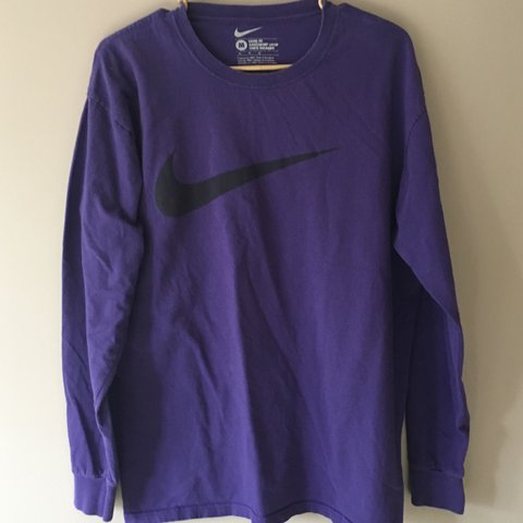 dcc727521 @t_donaldd. 2 years ago. Naperville, United States. Purple Men's Nike Loose  Fit long sleeve shirt ...