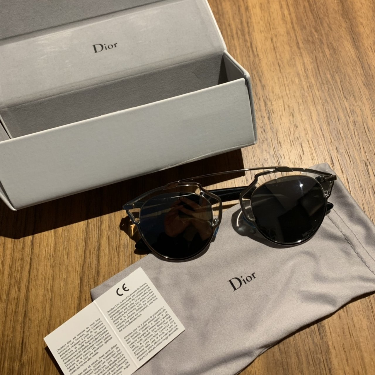 c1cb4914b6b98 DIOR SO REAL Worn - in good condition Comes w full packaging - Depop