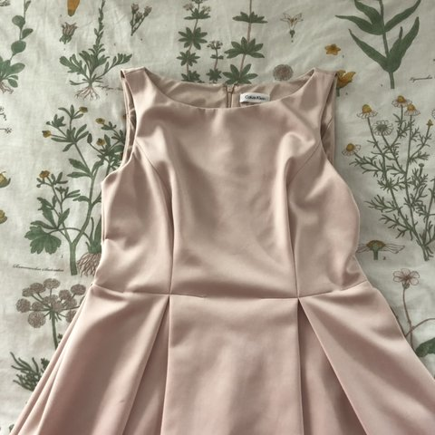 c4e5f24de96 beautiful calvin klein dress- perfect for weddings and size - Depop