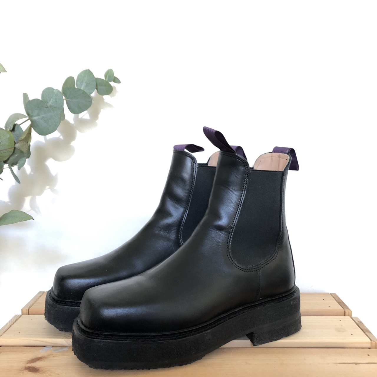 look for how to buy limited style Eytys Ortega Boots. Chelsea boots with a platform.... - Depop