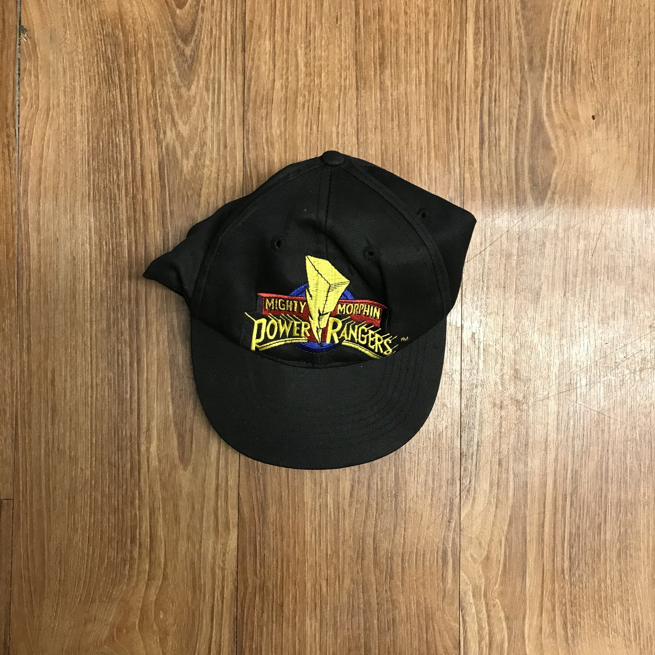 11a61f740ea 94 Mighty Morphin Power Rangers hat. You can t jus go in a - Depop