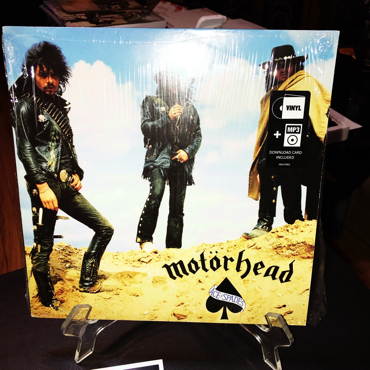 Motörhead ace of spades Vg+ condition no scratches    - Depop
