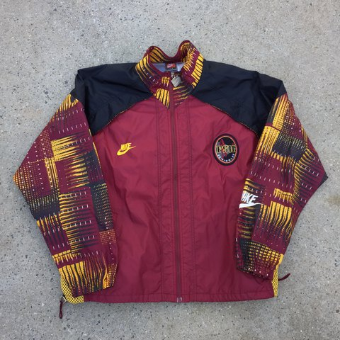 757779e34c Vintage Nike FSU Seminoles Full Zip Windbreaker Jacket For - Depop