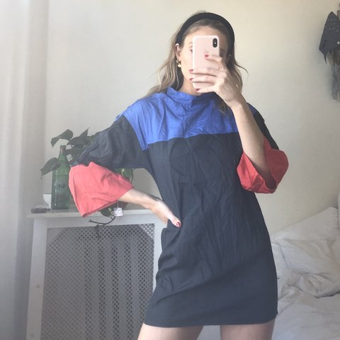 d43b75579bb6f @carolinemonteithwilson. 5 months ago. Los Angeles, United States. Vintage  ysl mini dress/top. Windbreaker material. XS-S