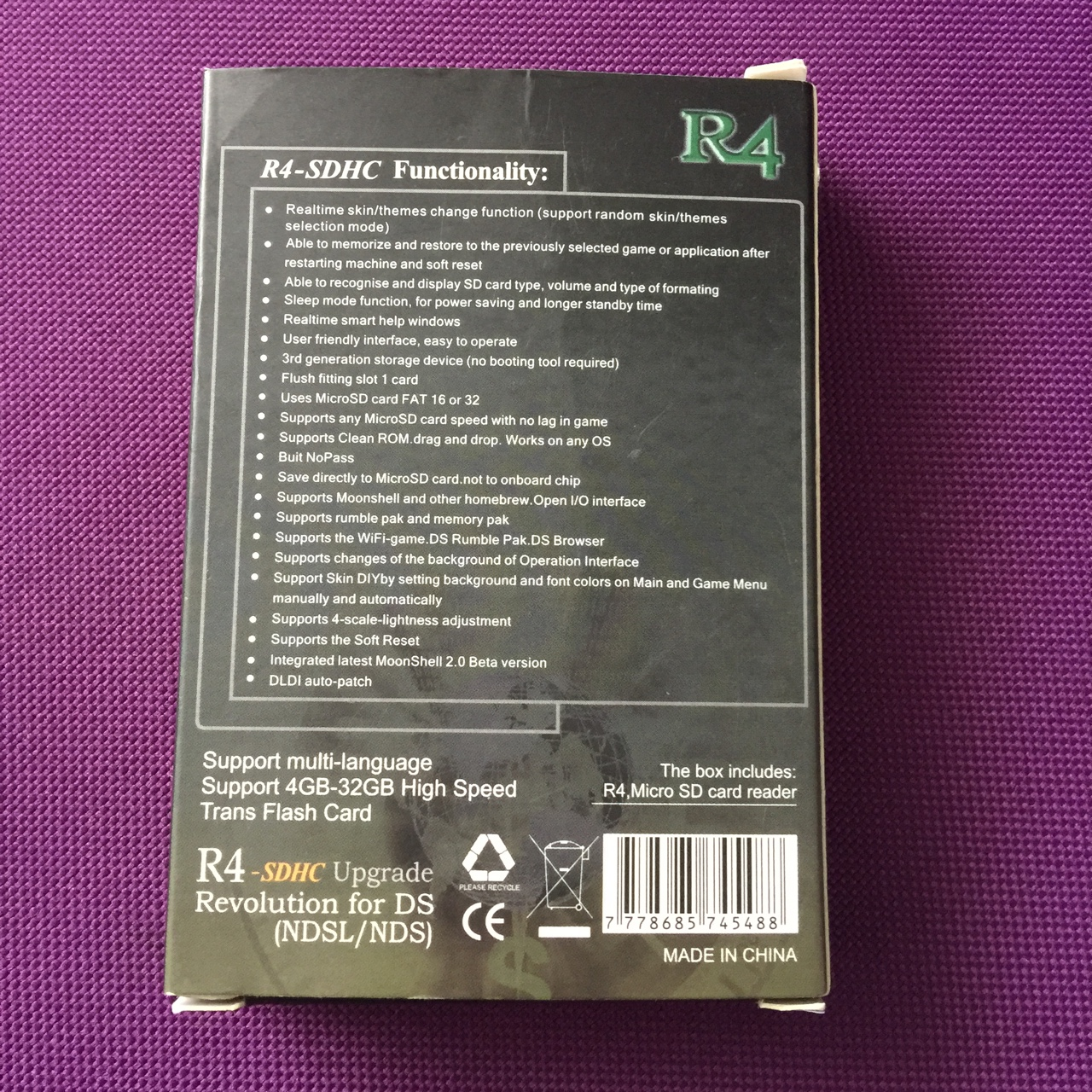 R4 Upgrade Card with USB adapter New with box For    - Depop
