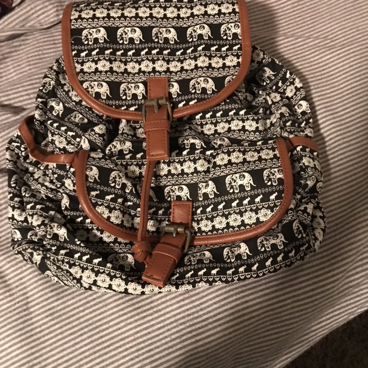baf874074f17 Elephant mini backpack in great condition only used a few - Depop