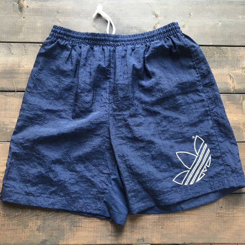 adidas originals denim look shorts